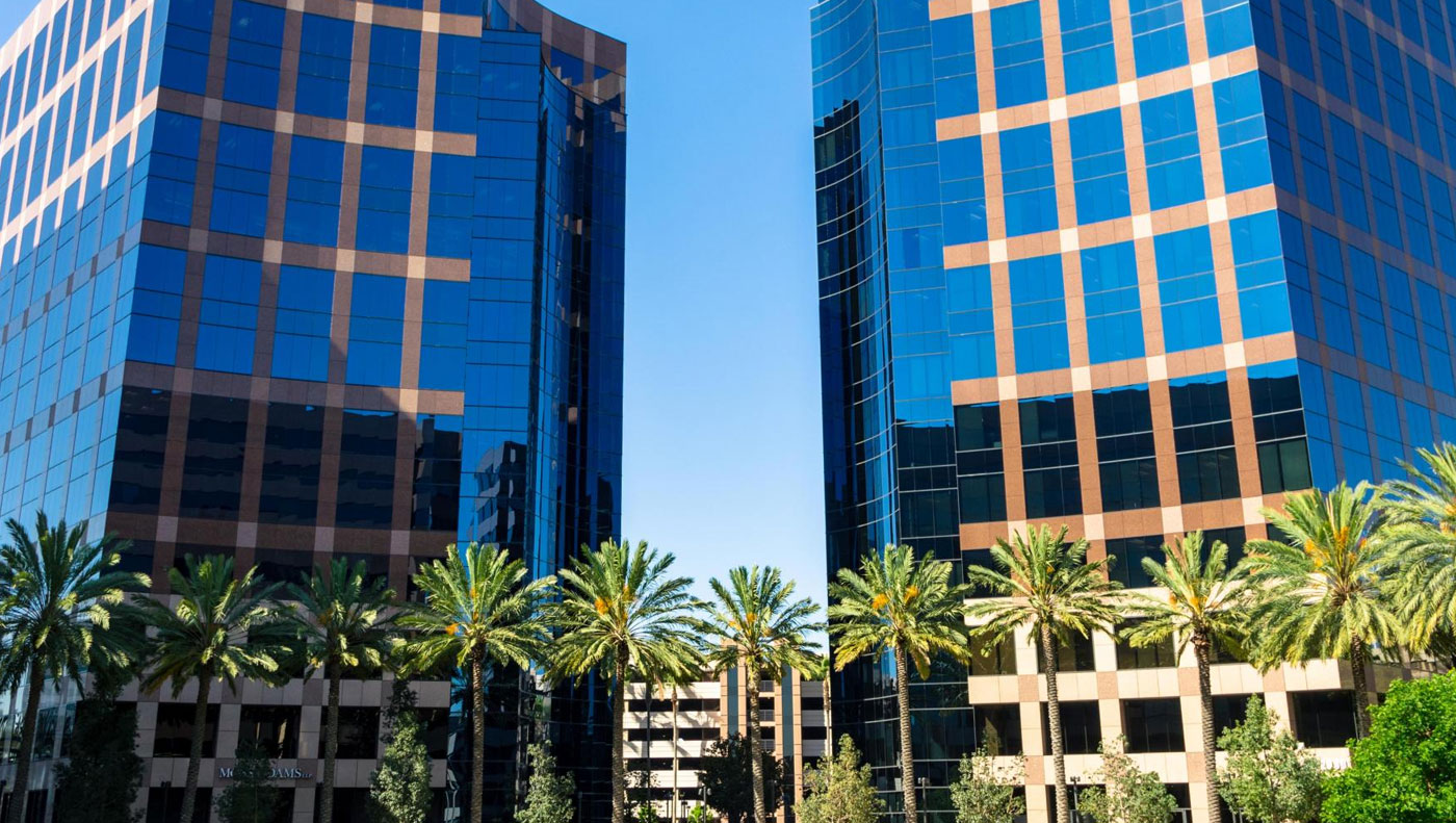 Irvine, CA business office buildings