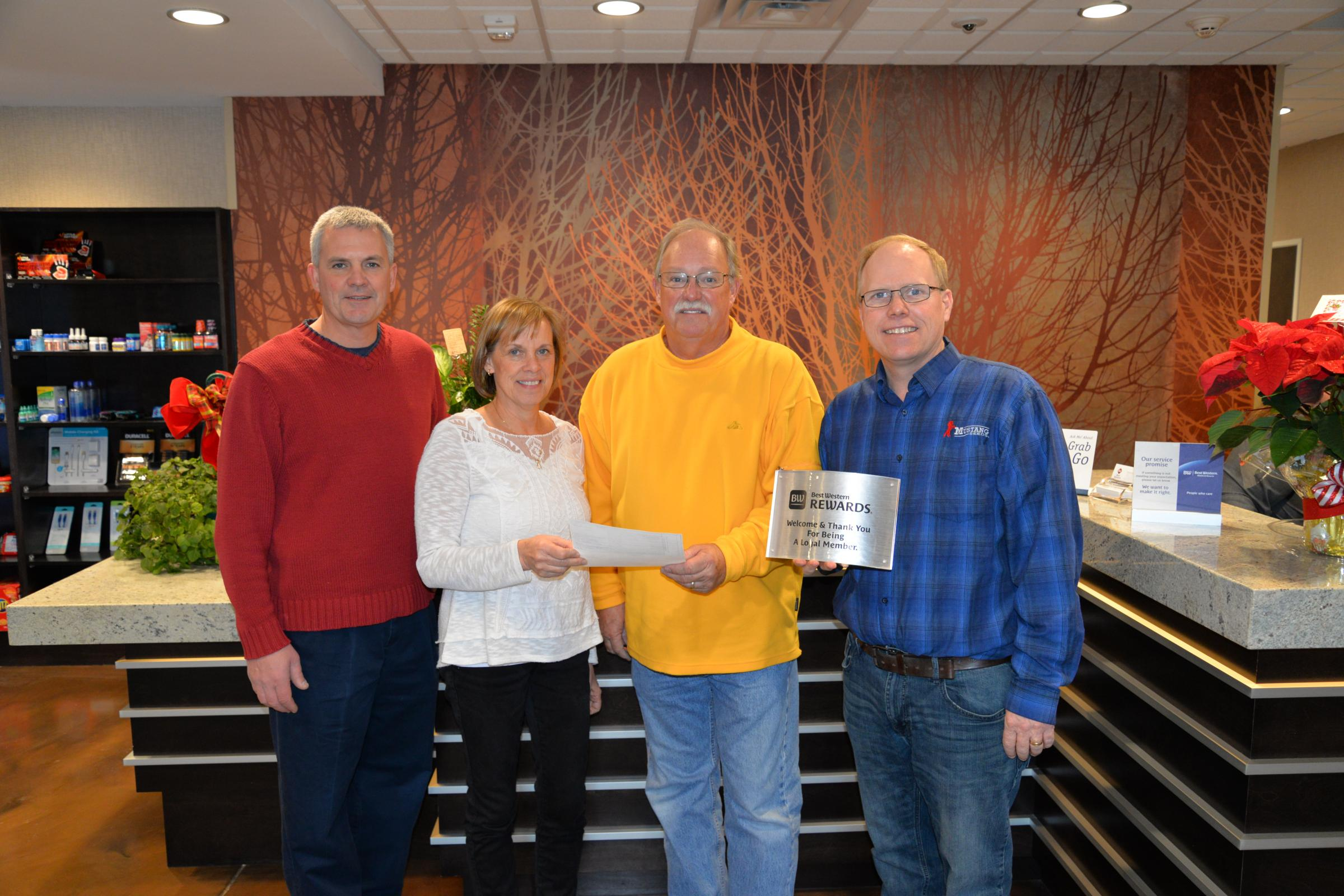 Thumbnail Image For Press Release: Sioux Valley Energy's REED Fund Benefits Madison's Best Western PLUS - Click Here To See
