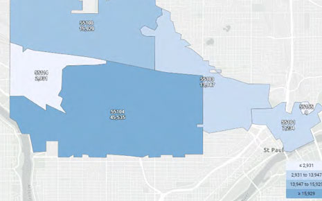 Reimagining Ramsey County: Midway, Downtown & Northern