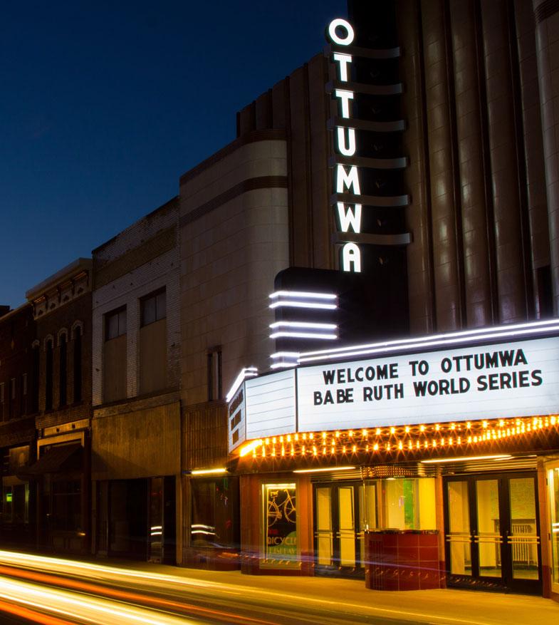 ottumwa iowa theater