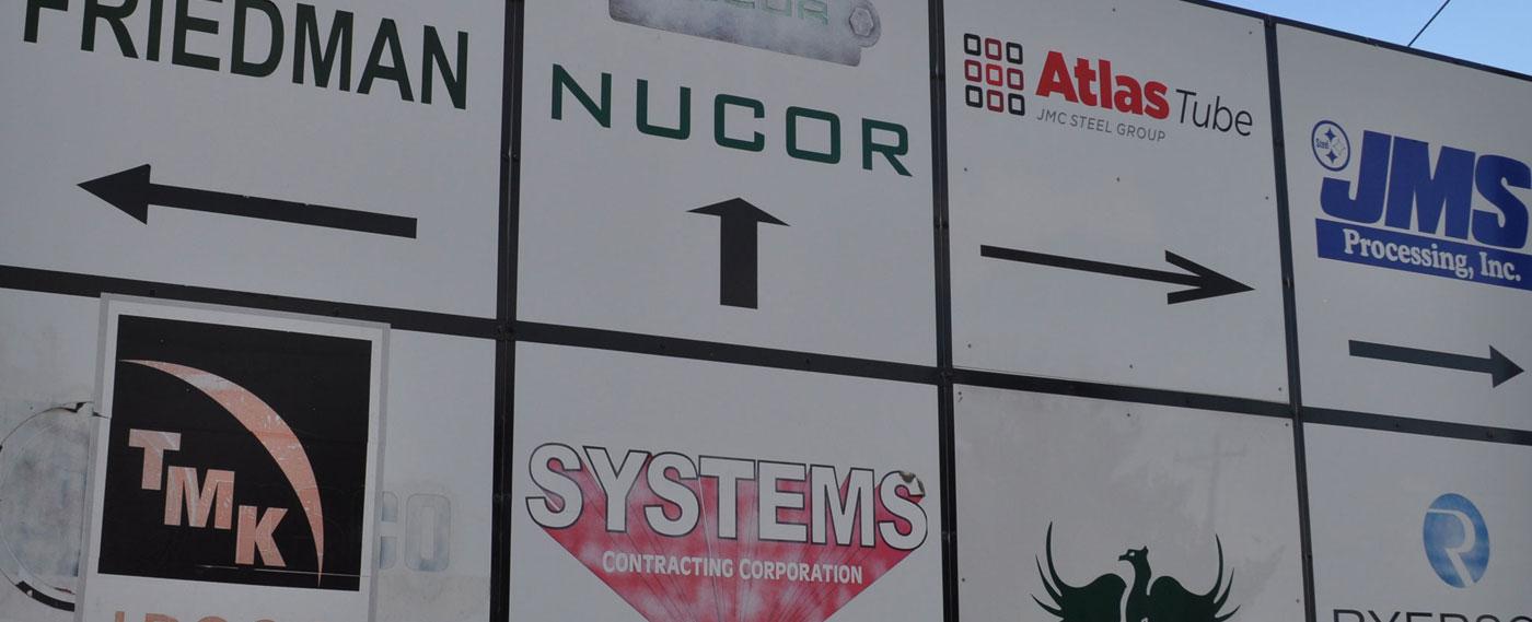 business park signs