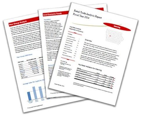 retail trade analysis report