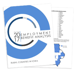 Thumbnail Image For 2017 Employment Benefit Analysis - Rural Counties - Click Here To See