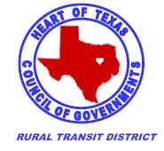 HOTCOG rural transit district logo