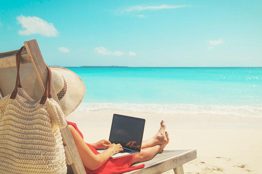 easy living on the beach