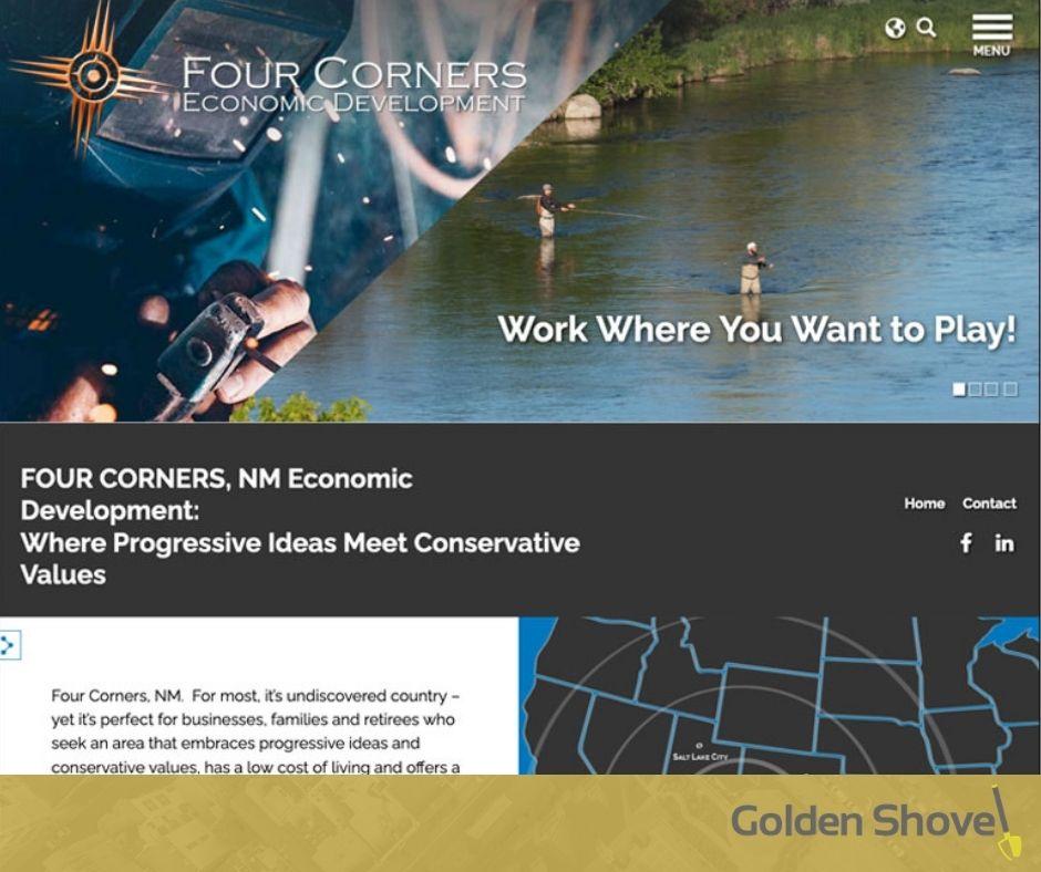 Four Corners Economic Development Launches Newly Designed Website Main Photo