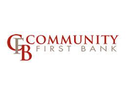 Community First Bank Slide Image