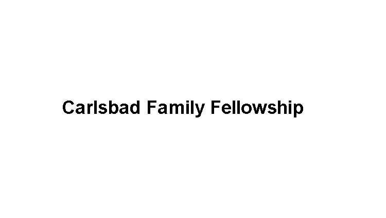 Carlsbad Family Fellowship Logo