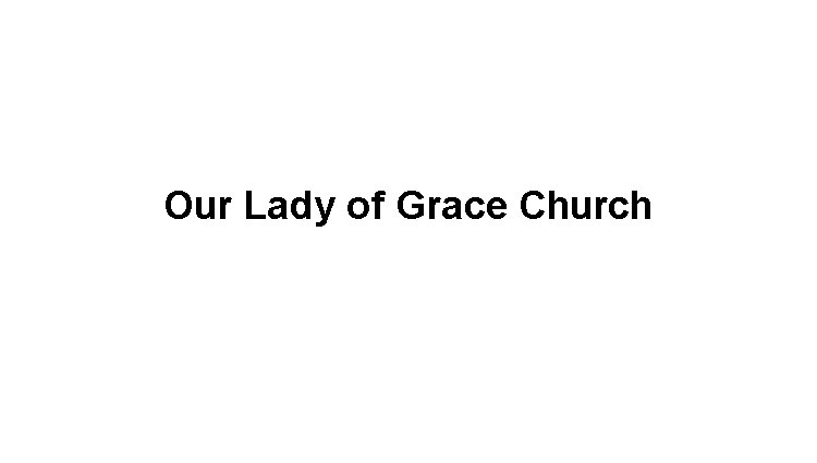 Our Lady of Grace Church Logo