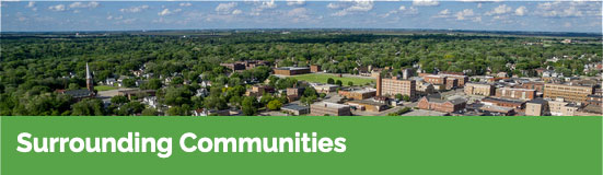 surrounding communities