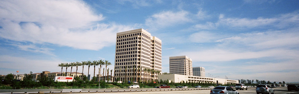 multii-story building in Irvine, CA