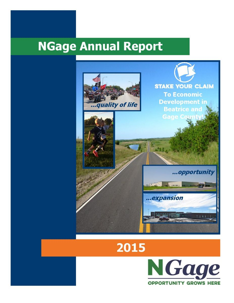 NGage Annual Report 2015 Main Photo